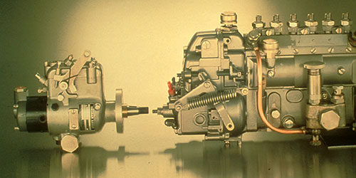 The World's First Diesel Rotary Pump